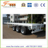 40feet 3axle Flatbed Contaner Semi Trailer
