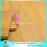 Самым дешевым почищенная щеткой ценой сплетенная стренгой польза Bamboo настила крытая в цвете белого дуба высокого качества