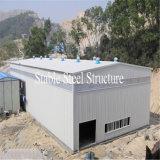 Здание стальной структуры света установки низкой стоимости легкое