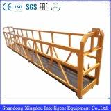 Платформа подвеса высокого качества с оборудованием конструкции ручным поднимаясь