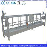 Plate-forme de travail simple en acier mobile d'accès de construction de mât