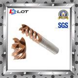 Ferramentas do cortador de trituração do carboneto de tungstênio do CNC para o alumínio e o tanoeiro