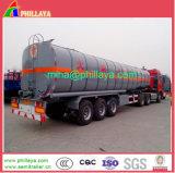 camion-citerne Heated de bitume du bec 36cbm diesel avec le châssis de remorque de Tri-Essieu