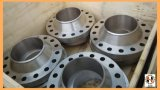 Выкованный фланец переходники CNC высокой точности подвергая механической обработке стальной