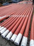Tubo flessibile di gomma idraulico Braided del filo di acciaio/tubo flessibile di gomma ad alta pressione