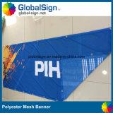 Bandeira do engranzamento do poliéster da condição ventosa do evento desportivo