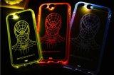 Новый случай телефона крышки/силикона мобильного телефона шаржа конструкции способа, творческий к крышке силикона молнии прозрачной