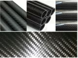 Prix bon marché de tube de fibre de carbone