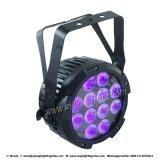 12*15W Rgbaw+UV 6 in 1 LED-leisem NENNWERT kann