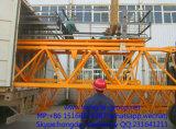 Hongda Classique Qtz63b Grue à tour avec tube en acier Section