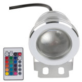 15W AC12V Stainless RGB Control LED Swimming Pool Light