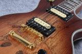Guitare électrique de Lp de premier matériel d'or de séquoia des 2017 Etats-Unis (GLP-103)