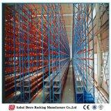 Полка покрышки хранения Китая автоматическая, шкаф автошины тяжелой тележки, регулируемый шкаф автошины пакгауза