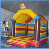 Kleines Monkey Inflatable Castle für Kids mit Jump Bounce