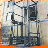 Plataforma vertical elétrica hidráulica elétrica do elevador da carga do armazém do equipamento de levantamento