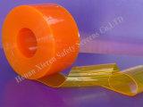 Geel Plastic Gordijn