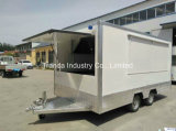 2017 Ce Hot Sales Steel Food Cart, Strrt Mobile Vending Box Food Truck