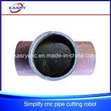 Máquina de entalho da perfuração de estaca de /Flame do plasma do CNC da tubulação de aço de China
