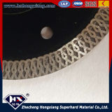 Type bagnato Turbo Diamond Saw Blade per Ceramic Tile, Granite