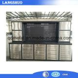 Gabinete de ferramenta de aço da gaveta de aço resistente da bancada da ferramenta da cozinha