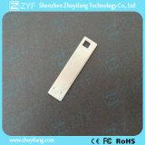 Bastone su ordinazione del USB del segnalibro 8GB del metallo dell'argento di marchio (ZYF1739)