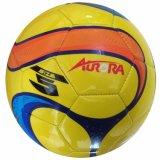 Sfera lucida cucita a macchina di gioco del calcio/calcio del PVC