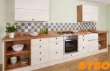 古典的な優雅な材木の木製のラッカーモジュラー食器棚(BY-L-116)