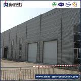 El edificio modificado para requisitos particulares de la estructura de acero previo almacén
