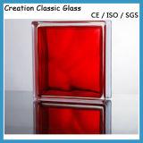 de 190*190*80mm Gekleurde Blokken van het Glas van de Bouw van het Glas Decoratieve met de Prijs van de Fabriek