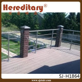 Projeto de aço do terraço dos trilhos do aço inoxidável (SJ-637)