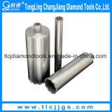 Broca de diamante soldada para perforar ladrillo de hormigón
