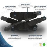 Soporte Látex-Libre respirable del tobillo del balompié del neopreno de Hook&Loop con el SGS