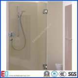 El vidrio del cuarto de baño, Flat&Curve templó el vidrio de la puerta de la ducha