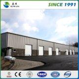 """Entrepôt galvanisé de structure métallique avec le panneau """"sandwich"""" d'ENV"""