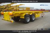 40FT 2つの車軸トラックのトレーラーの骨組容器のトレーラー