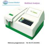 Analyseur Semi-Automatique médical de coagulation de chimie de Multitest de laboratoire