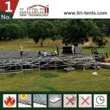 Sistema ajustável modular do revestimento para a barraca ao ar livre do evento