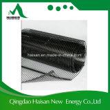안정제를 위한 가장 새로운 디자인된 1-3m 폭 170kn/M 높은 장력 강도 단축 플라스틱 Geogrid