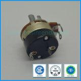 Potentiomètre rotatoire de la qualité 24mm avec le potentiomètre B5k, B50k, B500k de guitare de commutateur