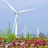 Torre de aço das energias eólicas da câmara de ar da alta qualidade durável da exportação