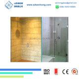 Dekorative Säure ätzte das Schwingen, das Frameless ausgeglichenes Glas-Dusche-Tür schiebt