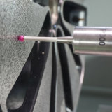 Máquina del CNC de la reparación de la rueda de la aleación del corte del diamante usada en los E.E.U.U. Awr2840PC