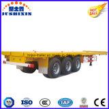 3 Aanhangwagen van de Container van assen 40FT Flatbed met de As van Fuwa BPW