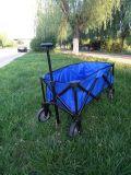 Carro portátil de dobramento do trole do reboque do carro de compra do carro do vagão