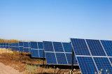 Energia pulita dal comitato solare di luce solare producendo elettricità per sia Facotry che la casa