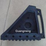黒いゴム製ウェッジ、車のゴム製ウェッジ、ゴム製ブロック、ゴム製ストッパー、車輪のくさびのゴムストッパー