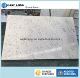 O mármore veia a pedra de quartzo para a bancada da cozinha de China