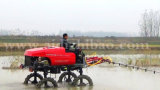 Pulvérisateur automoteur de boum de pouvoir d'agent d'engine du TGV de la marque 4WD d'Aidi pour la rizière et la ferme