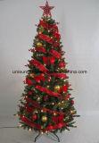 Albero di Natale variopinto di Pre-Deco con gli indicatori luminosi del LED in materiale differente (benvenuto dell'OEM)