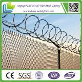 Загородка звена цепи фабрики Китая с ограждать провода бритвы